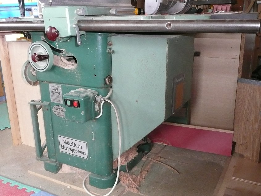 Wadkin Ags 10 Dust Collection Woodwork Uk